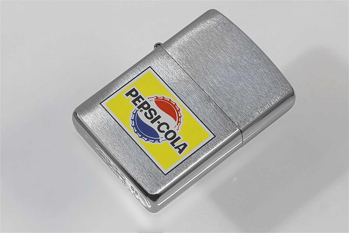Zippo ジッポー 絶版・2002年製造 PEPSI ペプシ 1965復刻デザイン A メール便可