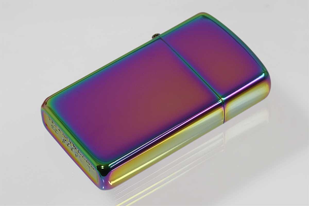 Zippo ジッポー 絶版・2006年製造 缶ケース スペクトラム スリム No.20493 メール便可