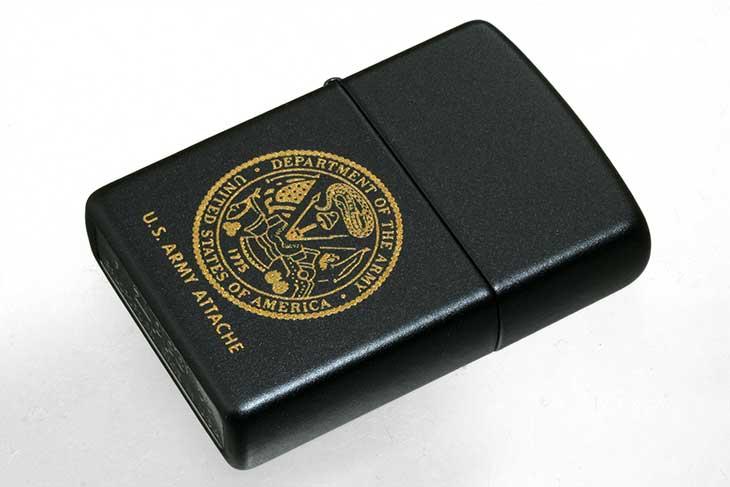 Zippo ジッポー 絶版・2005年 MTB2015G DEPARTMENT OF THE ARMY 286720 メール便可