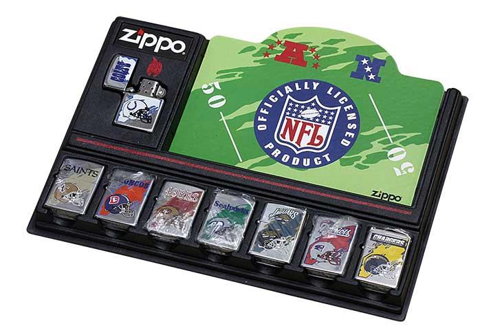 Zippo ジッポー 絶版・1996-1997年製造 OFFICIAL LICENSED PRODUCT NFL アメリカンフットボールリーグ 7個セット