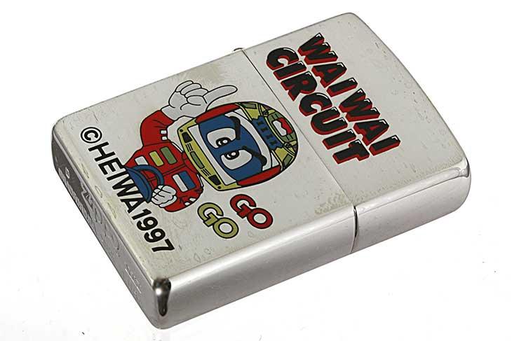 Zippo ジッポー 絶版・1998年製造 HEIWA WAIWAI CIRCUIT SP ドライバー メール便可