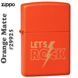 zippo(ジッポーライター) Zippo Price Fighter2019 #29925 Orange Matte画像