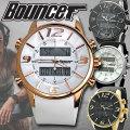 メンズ腕時計 BOUNCER バウンサー ブランド腕時計 デジタル アナログ 2924G 全4色画像