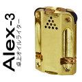 ALEX(アレックス)-3 卓上型オイルライター ブラスバレル画像