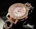 【ANNE CLARK】アンクラーク・レディース腕時計ピンクゴールド 天然ピンクシェル文字盤 AN-1021-17PG画像