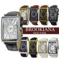 BROOKIANA ブルッキアーナ トノー型 メンズ腕時計 ブランド ウォッチ 天然ダイヤモンド画像