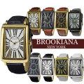 BROOKIANA ブルッキアーナ トノー型 メンズ腕時計 ブランド ウォッチ 天然ダイヤモンド BA5102画像