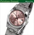 Christiano Domani 腕時計レディース ピンクCD-6502-3画像1