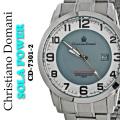 メンズ腕時計クリスチャンドマーニソーラーパワー10気圧防水CD-7301-2画像