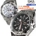 シチズン時計ソーラー腕時計メンズ マルチファンクション腕時計 H018