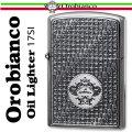 送料無料 Orobianco オロビアンコ オイルライター シルバーイブシ ORL-17SI ギフト プレゼントに最適 画像