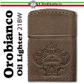 Orobianco オロビアンコ オイルライター 牛革巻き ORL-21BW画像