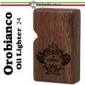 オロビアンコ オイルライター 木巻き ウッドケース ORL-24画像
