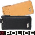 POLICE(ポリス)メンズ長財布 L字ファスナー イタリアンレザー PA-6103 二種画像