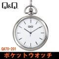 シチズン Q&Q 懐中時計 ポケットウォッチ QA70-201画像