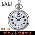 シチズン Q&Q 懐中時計 ポケットウォッチ QA70-204画像