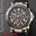 サルバトーレマーラ メンズ 腕時計SM14118-PGBK画像