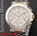サルバトーレマーラ メンズ 腕時計SM14118-PGWH画像