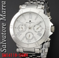 サルバトーレマーラ メンズ 腕時計SM14118-SSWH画像