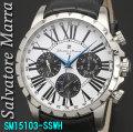 サルバトーレマーラ メンズ 腕時計 10気圧 マルチファンクションSSWH画像