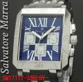 腕時計メンズ サルバトーレマーラ 角型SM17117-SSBLSV画像