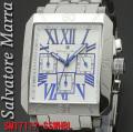 腕時計メンズ サルバトーレマーラ 角型SM17117-SSWHBL画像