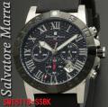 【Salvatore Marra】メンズ 腕時計 10気圧 クロノグラフ SM18118-SSBK画像