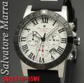 【Salvatore Marra】メンズ 腕時計 10気圧 クロノグラフ SM18118-SSWH画像