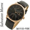 サルバトーレマーラ メンズ 腕時計 革ベルトSM19105-PGBK画像