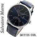 サルバトーレマーラ メンズ 腕時計 革ベルトサルバトーレマーラ メンズ 腕時計 革ベルトSM19105-PGSV画像画像