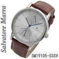 サルバトーレマーラ メンズ 腕時計 革ベルトサルバトーレマーラ メンズ 腕時計 革ベルトSM19105-SSSV画像画像