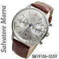 サルバトーレマーラ メンズ 腕時計 クロノグラフ 革ベルトSM19106-SSSV画像