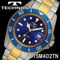 TECHNOS SWISS 腕時計 メンズ ダイバーズウォッチ 10気圧防水 テクノス TSM402TN画像