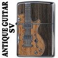 zippo(ジッポーライター) アンティークギター SV画像