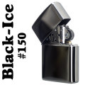 【ZIPPO】【プレゼントに最適】大人気 ブラックアイス ジッポライター画像