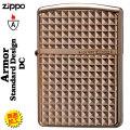 zippo(ジッポーライター)アーマースタンダードデザインピンクゴールド(C)画像
