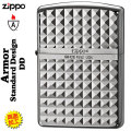 zippo(ジッポーライター)アーマースタンダードデザイン銀ミラー(D)画像
