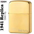 zippo(ジッポーライター)1941年復刻レプリカ ゴールドプレート画像