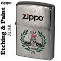 zippo(ジッポーライター)Etching&Paint エッチング&ペイントZCAR画像