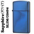 ジッポ ライター ジッポ サファイア(青色)スリム 画像
