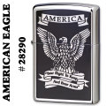 zippo(ジッポーライター)AMERICAN EAGLE high polish chrome#28290 画像
