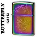 zippo(ジッポーライター)BUTTERFLY(蝶 バタフライ) Spectrum #28442画像