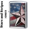 zippo(ジッポーライター)RETRO STAR ブラッシュクローム #28653画像