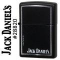 zippo(ジッポーライター)JACK DANIEL'S (ジャックダニエル)black Matte #28820画像