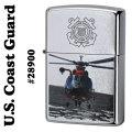 zippo(ジッポーライター)U.S Coast Guard(米国沿岸警備隊)#28900 Street Chrome画像