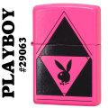 zippo(ジッポーライター)Playboy design #29063 プレイボーイ neon-pink画像