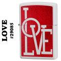 zippo(ジッポーライター)Love #29085 White Matte画像