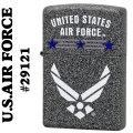 zippo(ジッポーライター)The United States Air Force #29121 Iron Stone base画像