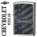 zippo(ジッポーライター)Chevrolet Old Logo Brushed Chrome #29148画像