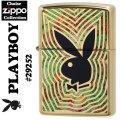 zippo(ジッポーライター)PLAYBOY #29252 High Polish Brass 2016-17年チョイスコレクション画像